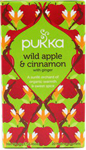 Pukka Wild Apple & Cinnamon With Ginger Organic