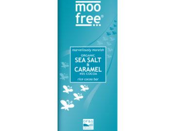 Moo Free Sea Salt & Caramel Rice Milk Bar Organic