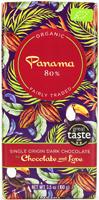 Chocolate & Love Panama Single Origin 80% Dark Organic