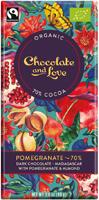 Chocolate & Love Pomegranate 70% Organic