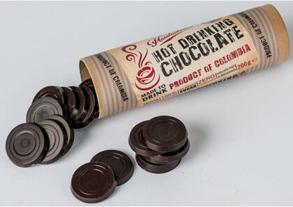Hasslacher's Hot Drinking Chocolate in a Tube