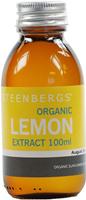 Steenbergs Lemon Extract Organic