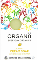 Organii Almond & Avocado Cream Soap
