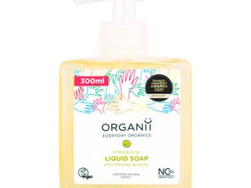 Organii Everyday Organics Citrus & Olive Liquid Soap