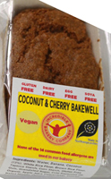 Incredible Bakery Company Coconut & Cherry Bakewell