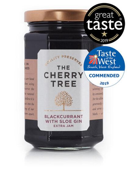 The Cherry Tree Blackcurrant With Sloe Gin Extra Jam