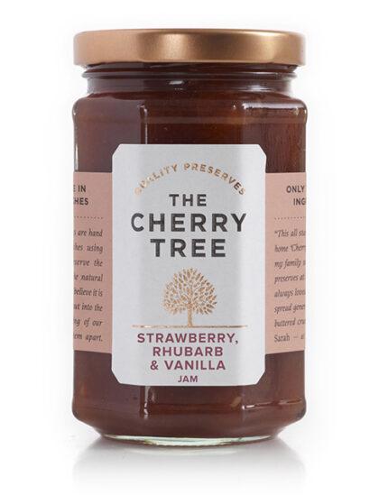 The Cherry Tree Strawberry Rhubarb & Vanilla Jam
