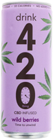 Drink 420 CBD Infused Wild Berries