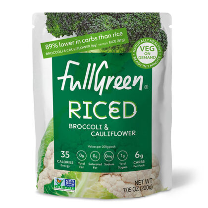 Full Green Cauli Rice with Broccoli
