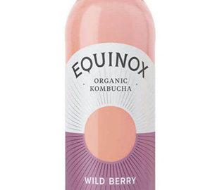 Equinox Kombucha Wild Berry Tea Organic