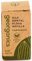 Georganics Silk Dental Floss Refills Cardamom