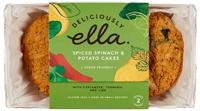 Deliciously Ella Spiced Spinach & Potato Cakes