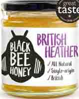 Black Bee Honey British Heather Honey