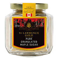 St Lawrence Gold Pure Granulated Maple Sugar Organic