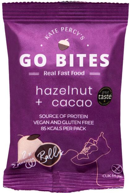 Kate Percy's Go Bites Hazelnut & Cacao