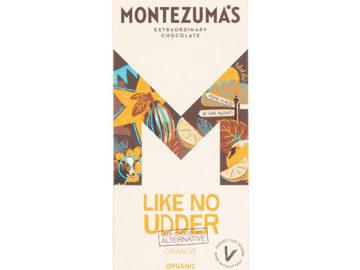 Montezuma's Like No Udder Orange Milk Chocolate Organic