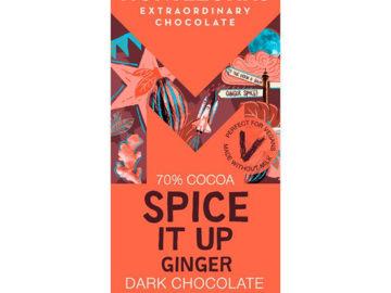 Montezuma's Dark Chocolate Spice It Up Ginger Chocolate