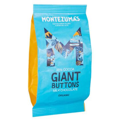 Montezuma's Smooth Milk Chocolate Giant Buttons Organic