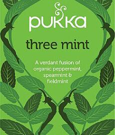 Pukka Three Mint Tea Organic
