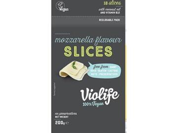 Violife Dairy Free Cheese Style Slices Mozzerella Flavour