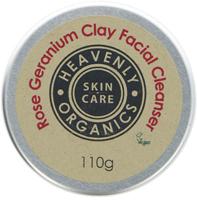 Heavenly Organics Rose Geranium Clay Facial Cleanser