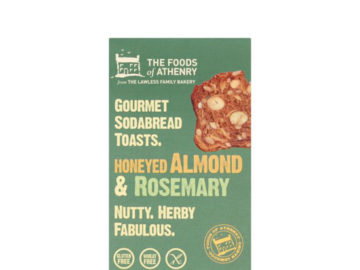 The Foods Of Athenry Honeyed Almond & Rosemary Sodabread Toasts