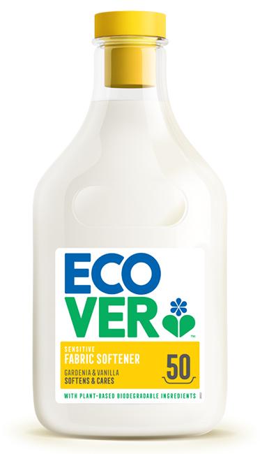 Ecover Gardenia & Vanilla Fabric Softener