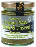 Carley's Raw Hemp & Linseed Butter Organic