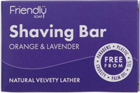Friendly Shaving Soap Orange & Lavender