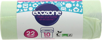 Ecozone 22 Compostable Caddy Liners