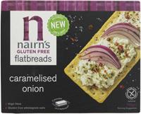 Nairn's Gluten Free Caramelised Onion Flatbreads