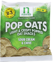 Nairn's Gluten Free Sour Cream & Chive Pop Oats