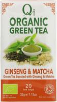 Qi Green Tea Ginseng & Matcha Organic