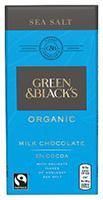Green & Black's Sea Salt Milk Chocolate Organic