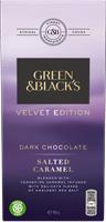 Green & Black's Velvet Edition Salted Caramel Dark Chocolate