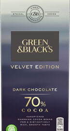 Green & Black's Velvet Edition 70% Dark Chocolate