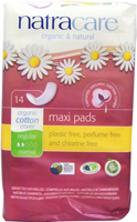 Natracare Regular Normal Maxi Pads Organic