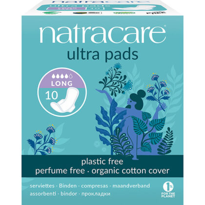 Natracare Natural Ultra Pads Long With Wings