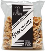 La Terra E Il Cielo Orecchiette Wholewheat Pasta Organic
