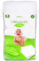 Organyc Baby Cotton Squares Organic