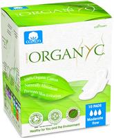 Organyc 'Moderate' Sanitary Pads