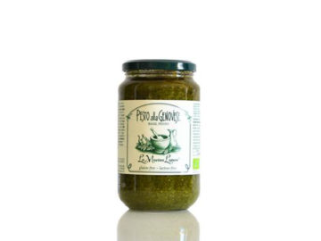 La Macina Ligure Pesto Alla Genovese Basil Pesto Organic