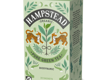 Hampstead Tea Clean Green Tea Organic