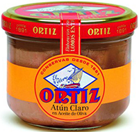 Ortiz Yellowfin Tuna Fillets in Jar in Olive Oil 220g