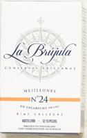 La Brujula Marinated Mussels No24 ~ 12/16 Pieces