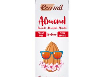 Ecomil Sugar Free Almond Milk Organic 1lt