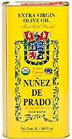 Nunez de Prado Extra Virgin Olive Oil Organic 5lt Tin
