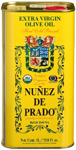 Núñez de Prado Extra Virgin Olive Oil Organic 1lt