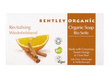 Bentley Organic Revitalising Soap Bar With Cinnamon