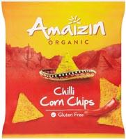 Amaizin Chilli Corn Chips Organic